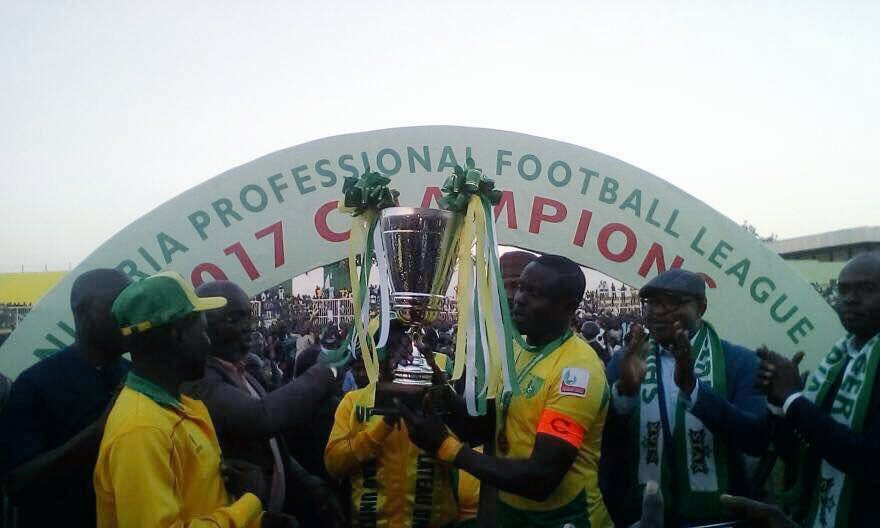 Plateau united win NPFL 2017