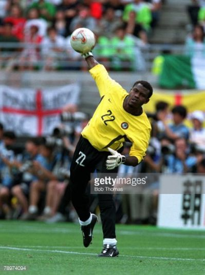 Vincent Enyeama 2002 world cup.