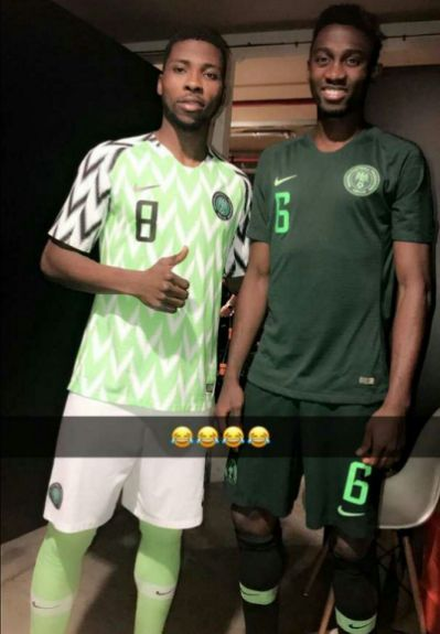 Super Eagles 23 man world cup list