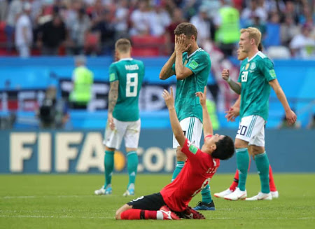 Germany Sad at 2018 World Cup
