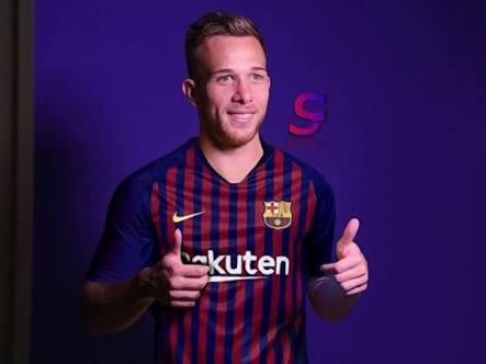 Arthur Melo Barcelona