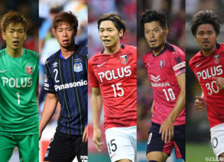 Top 5 football clubs in Japan