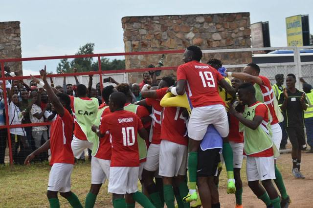 Burundi qualifies for the 2019 AFCON