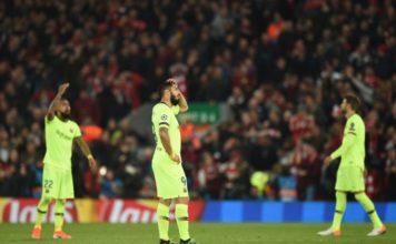 Barcelona loss to Liverpool