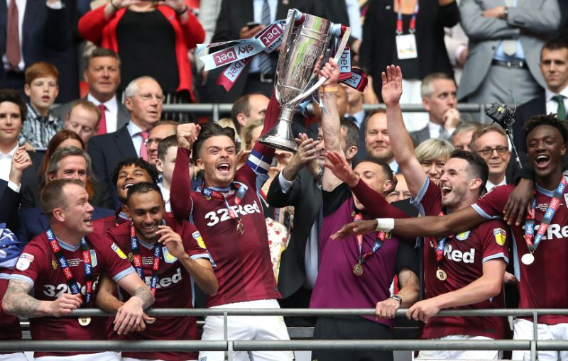 Aston Villa promoted 2019/2020