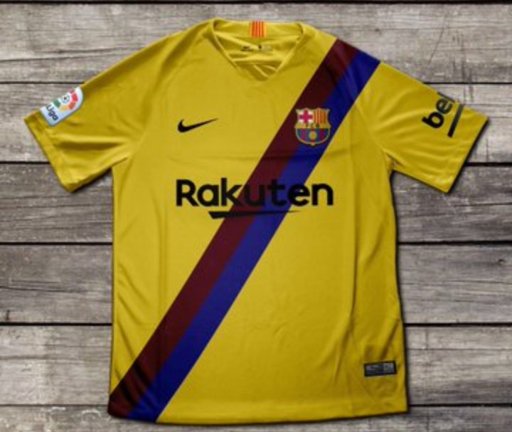 FC Barcelona 2019/20 away kit