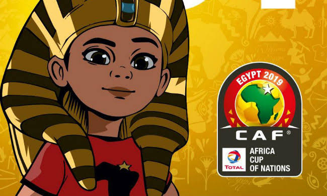 King Tut AFCON 2019 Mascot