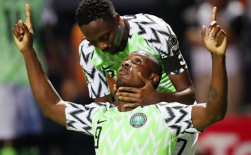 Nigeria vs. Burundi Odion Ighalo