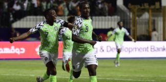 Nigeria vs. Cameroon AFCON 2019 match
