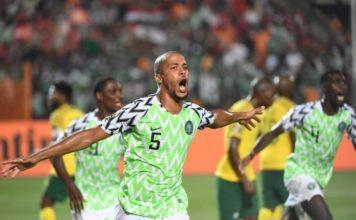 Nigeria vs South Africa AFCON match