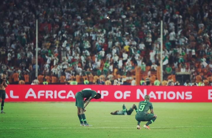 Nigeria vs. Algeria AFCON 2019 match