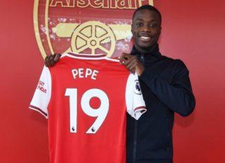 Nicolais Pepe Arsenal