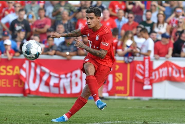 Phillipe Coutinho in Bayern Munich
