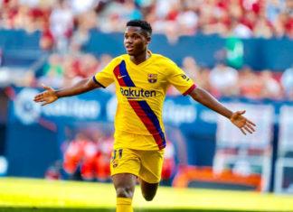 Ansu Fati Youngest goalscorers in La Liga
