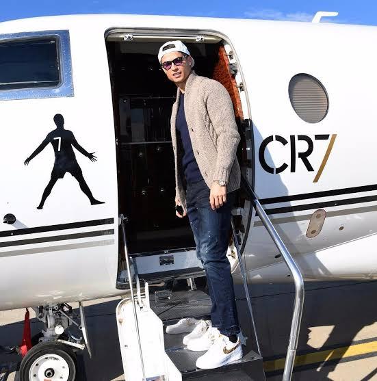 Cristiano Ronaldo private jet