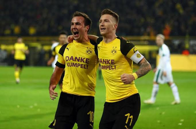 Mario Gotze and Marco Reus