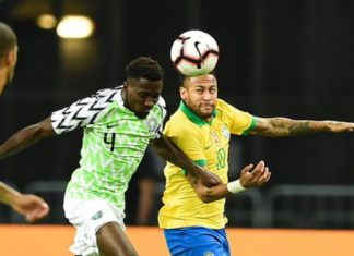 Nigeria vs Brazil Friendly