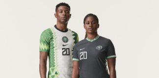 Nigerian new Nike Jersey 2020