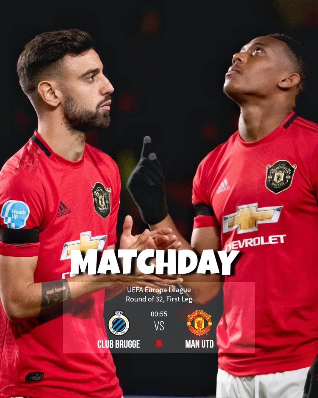 Manchester United vs. Club Brugge