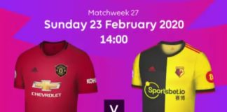 Manchester United vs. Watford