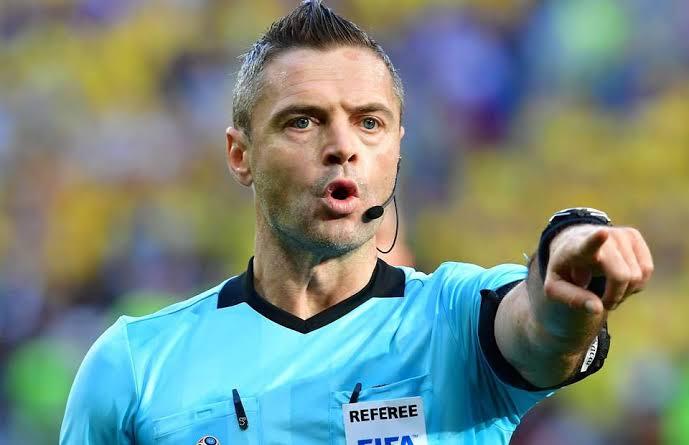 Damir Skomina Slovenian football referee