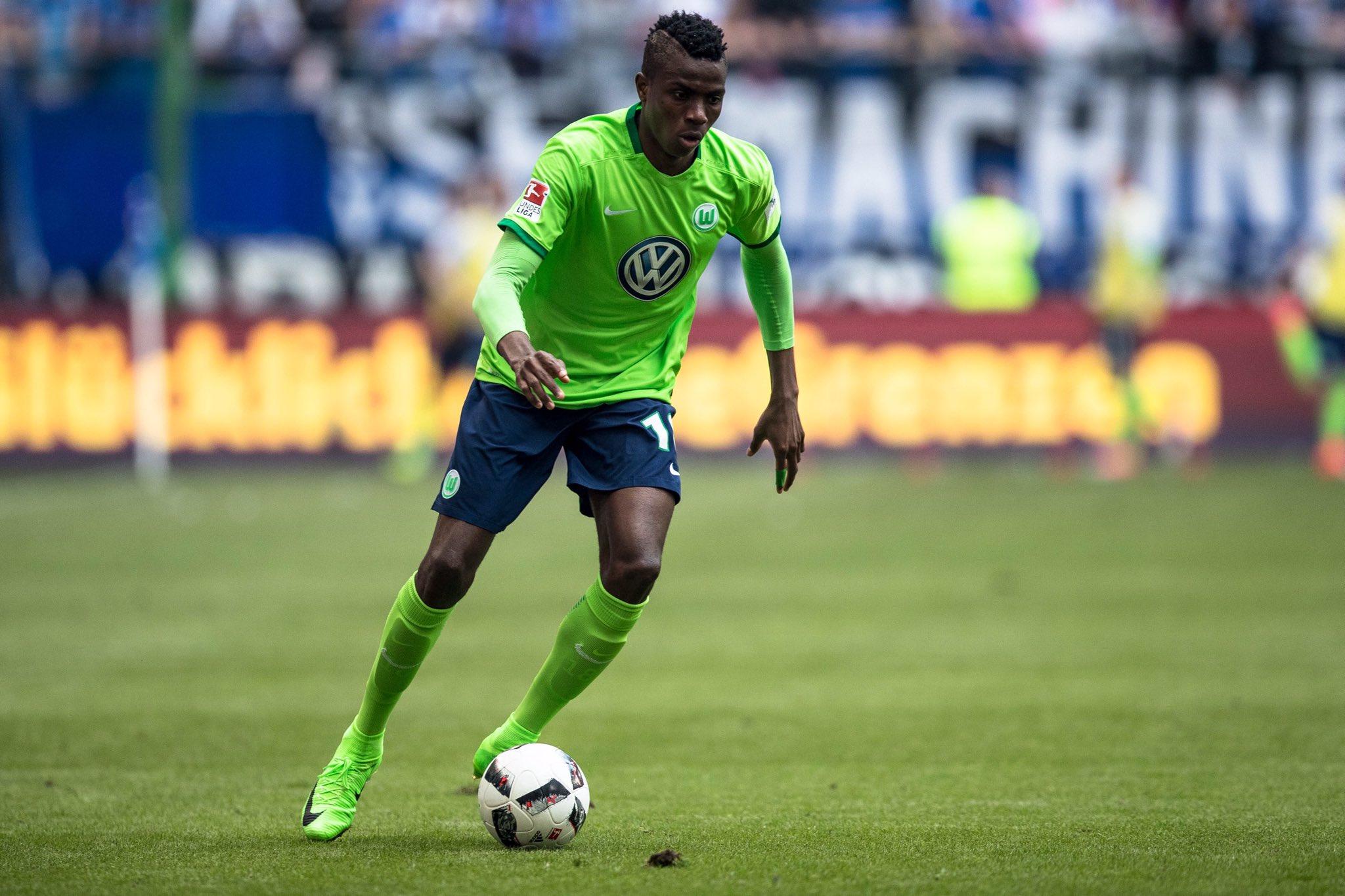 Victor Osimhen at Wolfsburg