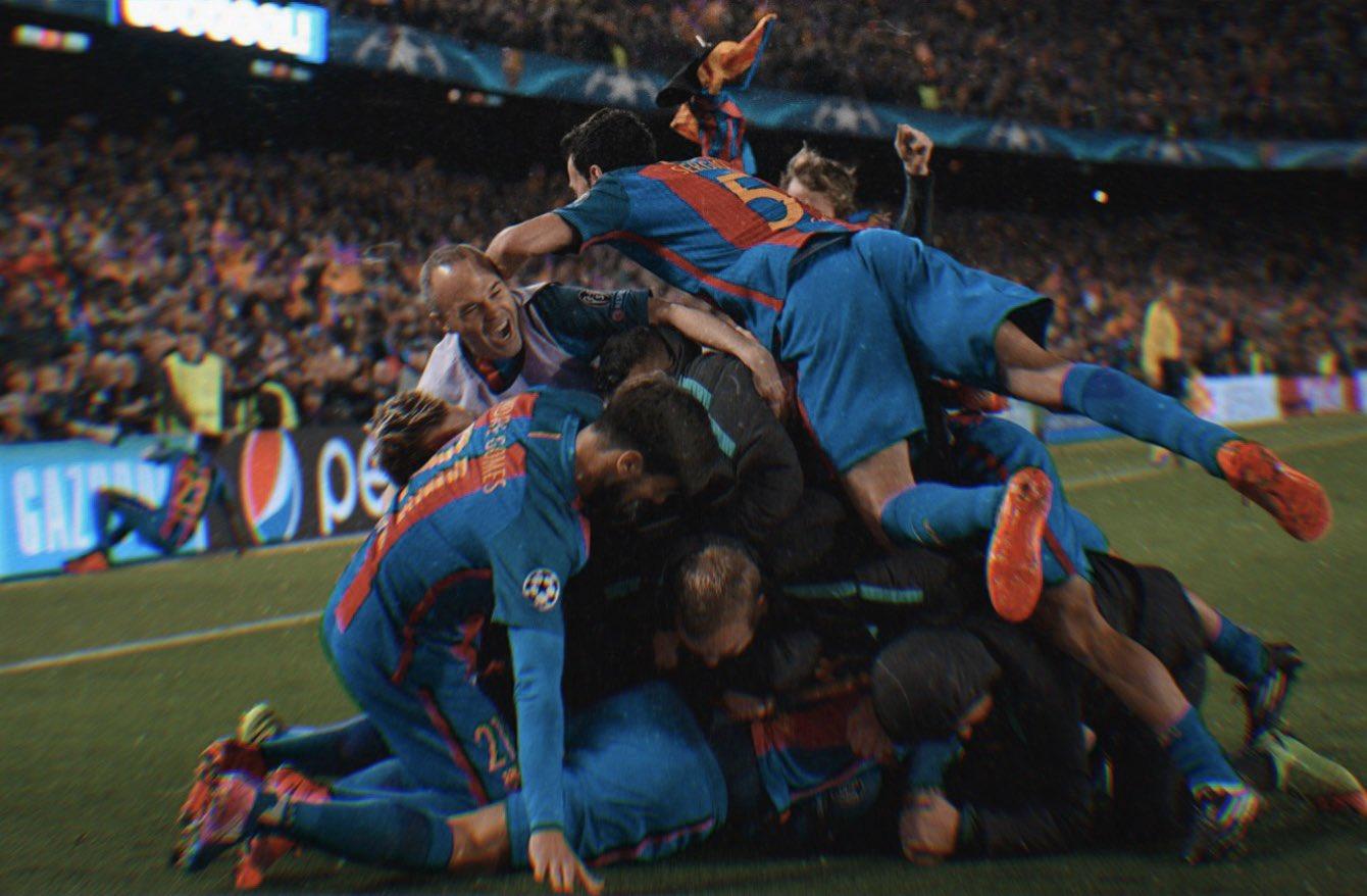 Barca's incredible comeback against PSG, 2017