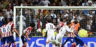 Ramos' scores against Atletico, 2014