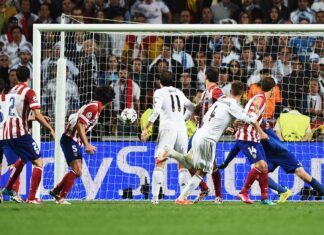 Ramos' scores against Atletico, 2014
