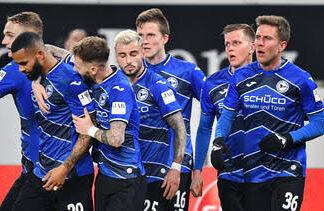 Arminia Bielefeld players