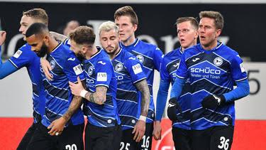 Arminia Bielefeld newly promoted Bundesliga teams