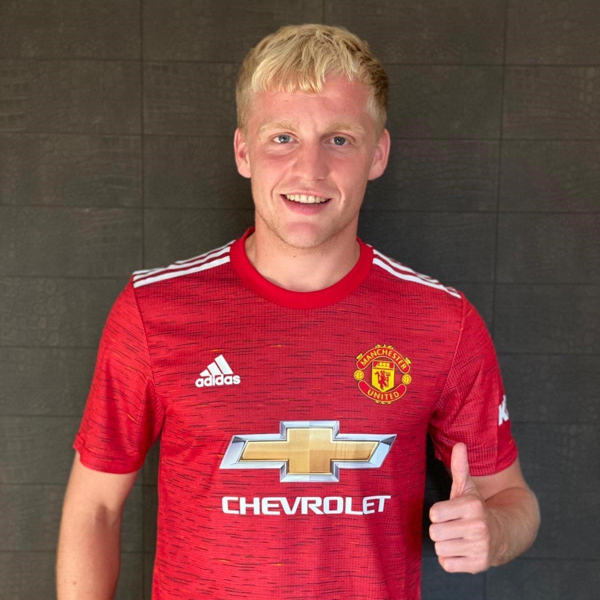 Donny Van de Beek Manchester United
