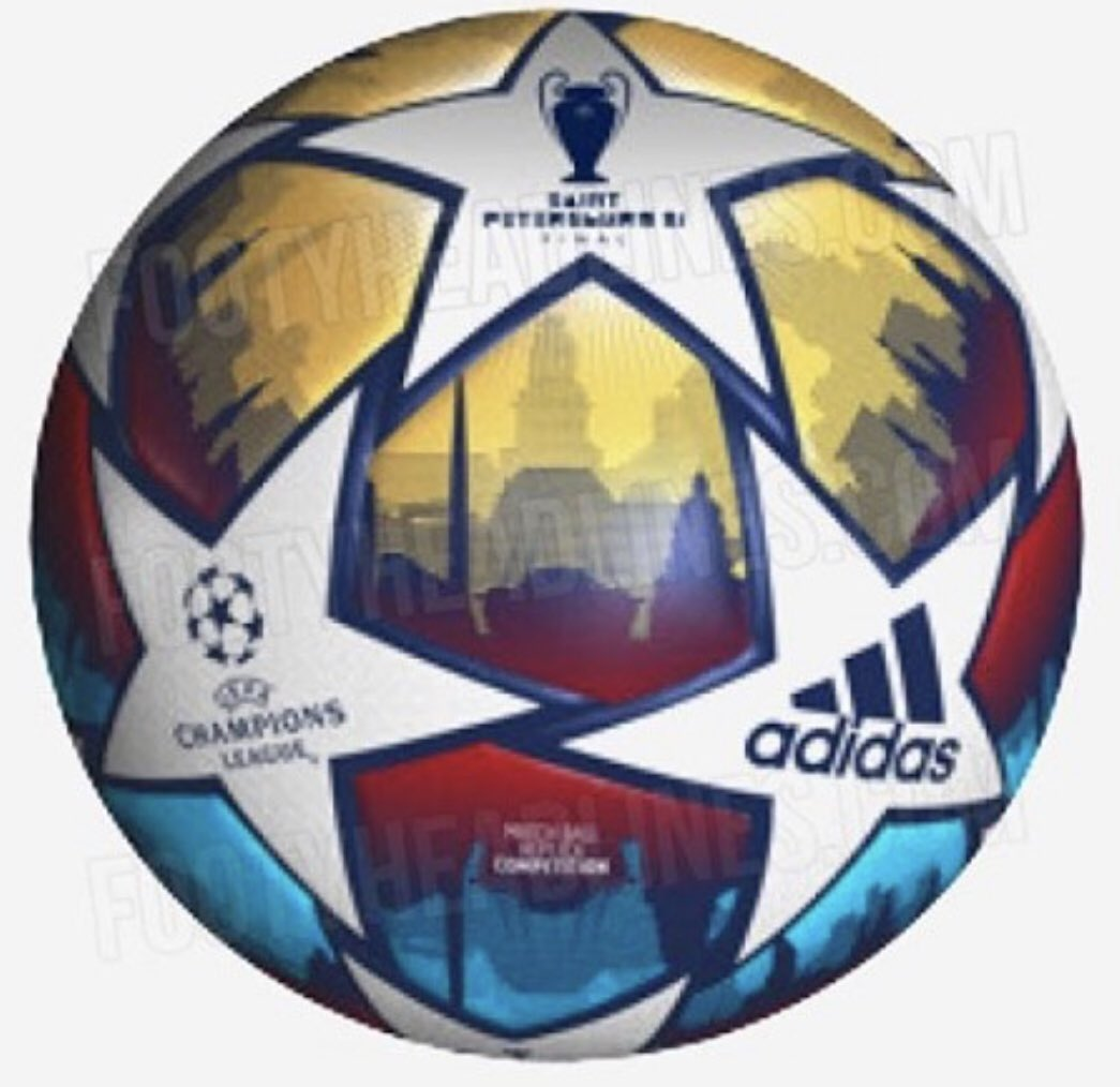 Official ball 2020/21 UEFA Champions League