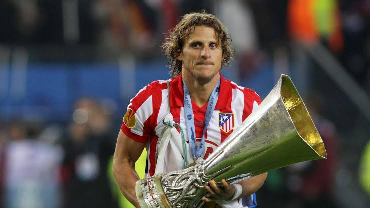 Diego Forlan Atletico Madrid 2010 Champions League win