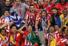 Atletico Madrid 2010 Champions League win