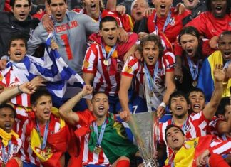 Atletico Madrid 2010 Champions League win
