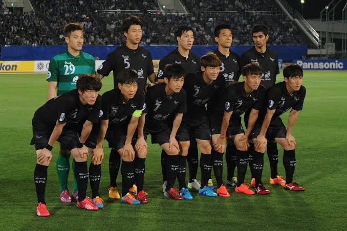 Football clubs in South Korea
