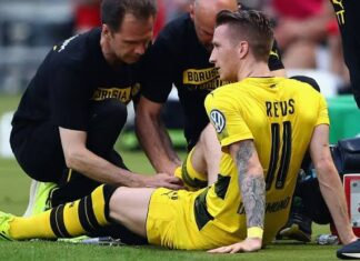 Marco Reus ACL Injury