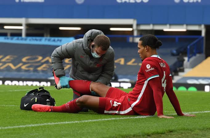 Virgil Can Dijk ACL Injury