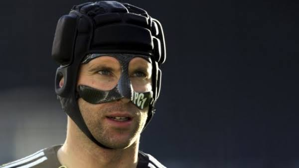 Why some footballers face mask