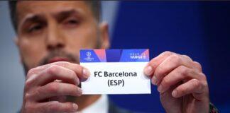 Barcelona 2020/21 UEFA Champions League round of 16 draws