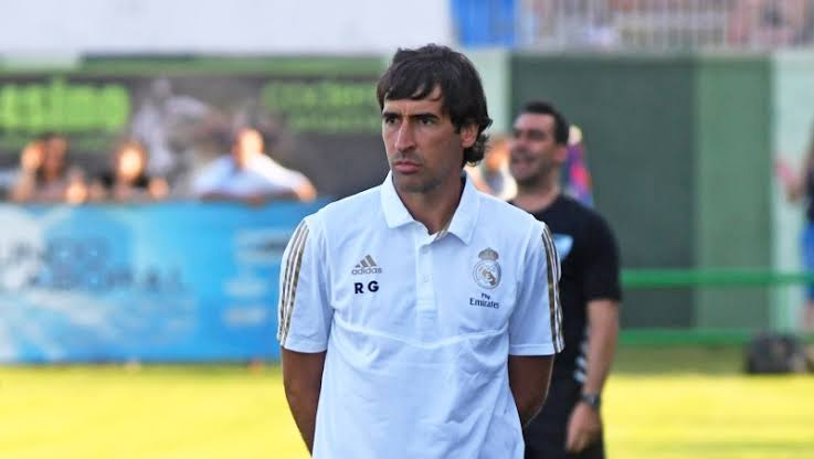 Raúl González coach Real Madrid Castilla