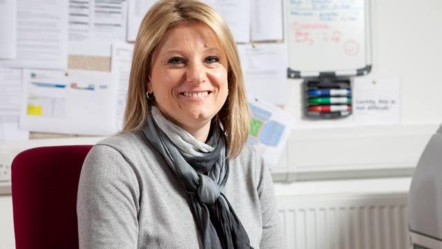 Sharon Barnhurst football club secretary