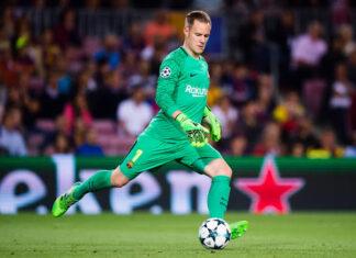 Marc-Andre Ter Stegen Best ball-playing goalkeepers