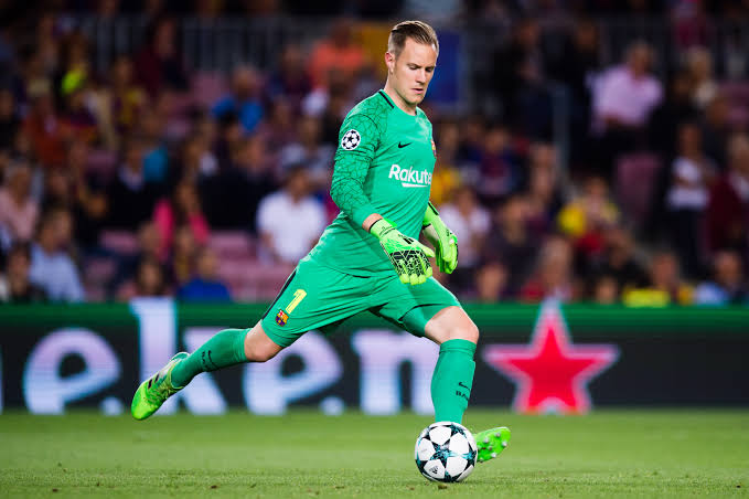Marc-Andre Ter Stegen Best ball-playing goalkeepers