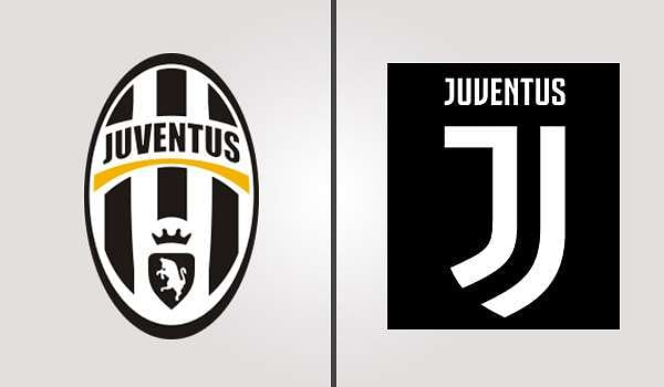 Juventus Old and New Badges
