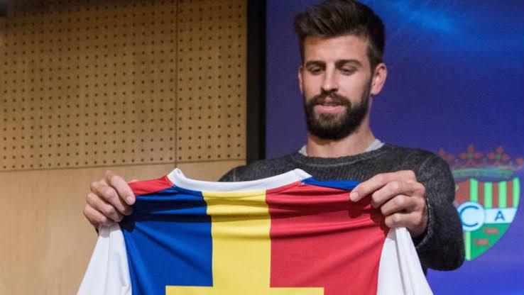 Gerrard Pique bought Andorra FC