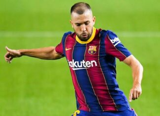 Jordi Alba Best Left-backs in the world