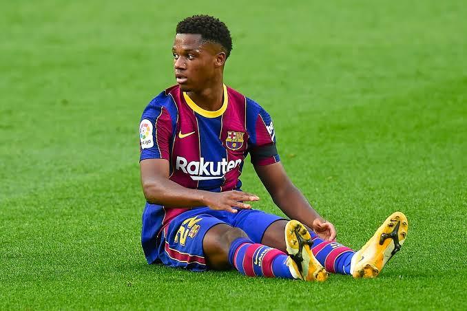 Ansu Fati players that tore their meniscus