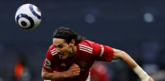 Edinson Cavani top header goal Scorers In Football